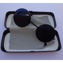 Óculos Redondo Lennon Ozzy Rock Retrô Vintage Round Metal