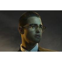 Oculos De Grau Dita Gucci Versace Armação Titanio Ouro 18k