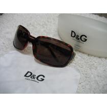 Dolce&gabbana Dg 809/s Óculos De Sol Havana Brown C Dourado