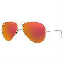 Óculos De Sol Ray Ban Aviator Large Metal Dourado