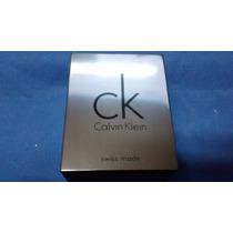 Case Caixa Estojo Capa Metal Manual Calvin Klein R$ 85,00