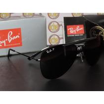 Armação Oculos De Grau E Sol Rb8569 Clip On Polarizado Preta