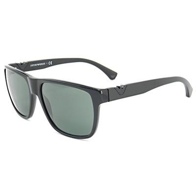 1fde4a374 Óculos De Sol Masculino Emporio Armani Acetato Preto - R$ 361,91 no  MercadoLivre