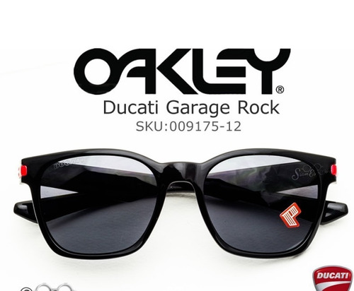 oakley garage rock ducati polarized