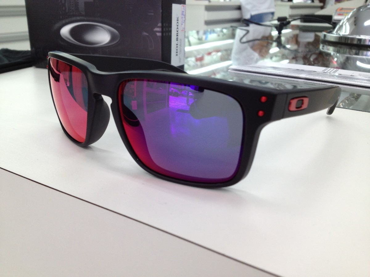 Oakley Holbrook Red Iridium