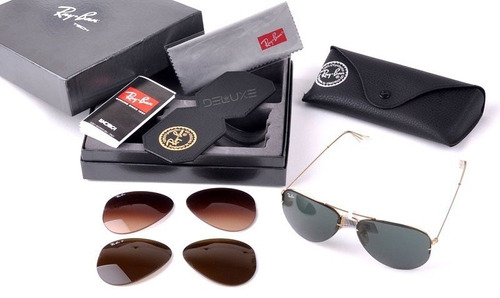 ... real óculos ray ban tech flip out rb3460 9f502 acf3d ... ea565b650282