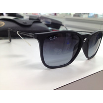 Oculos Solar Ray Ban Rb4187 Chris 622/8g Made In Italy