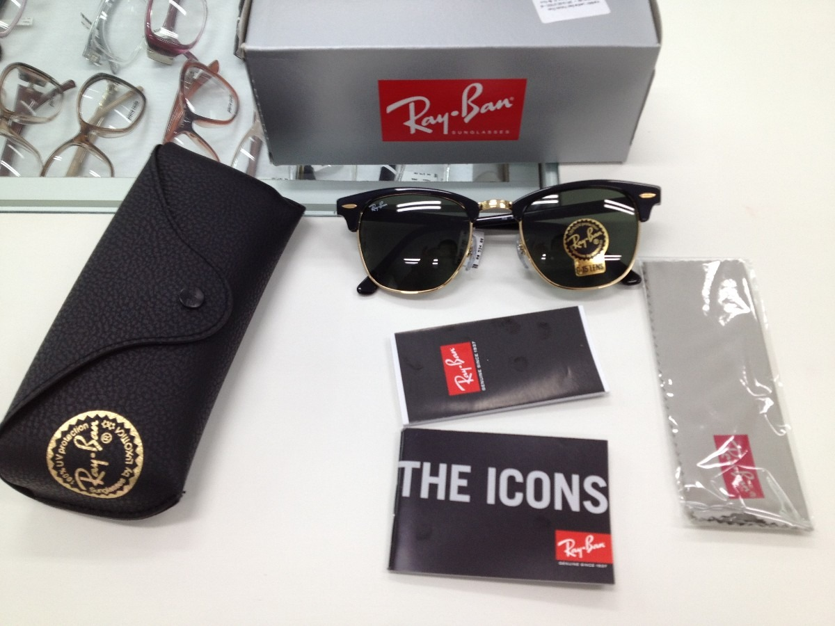 Ray Ban Rb 3016 Clubmaster óculos De Sol   United Nations System ... 6148ec960e