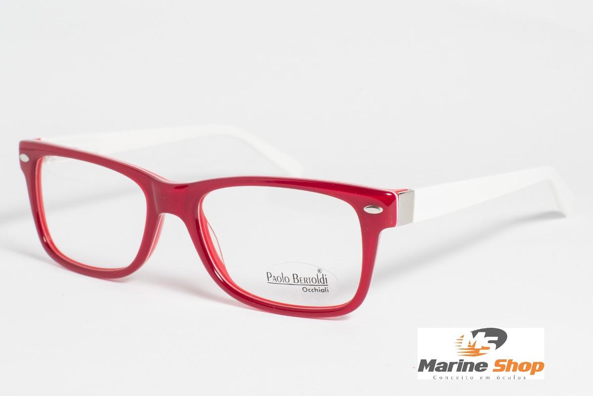 a8d760d3179b0 Armação De óculos De Grau Acetato Zilo Preta Retro Acessório