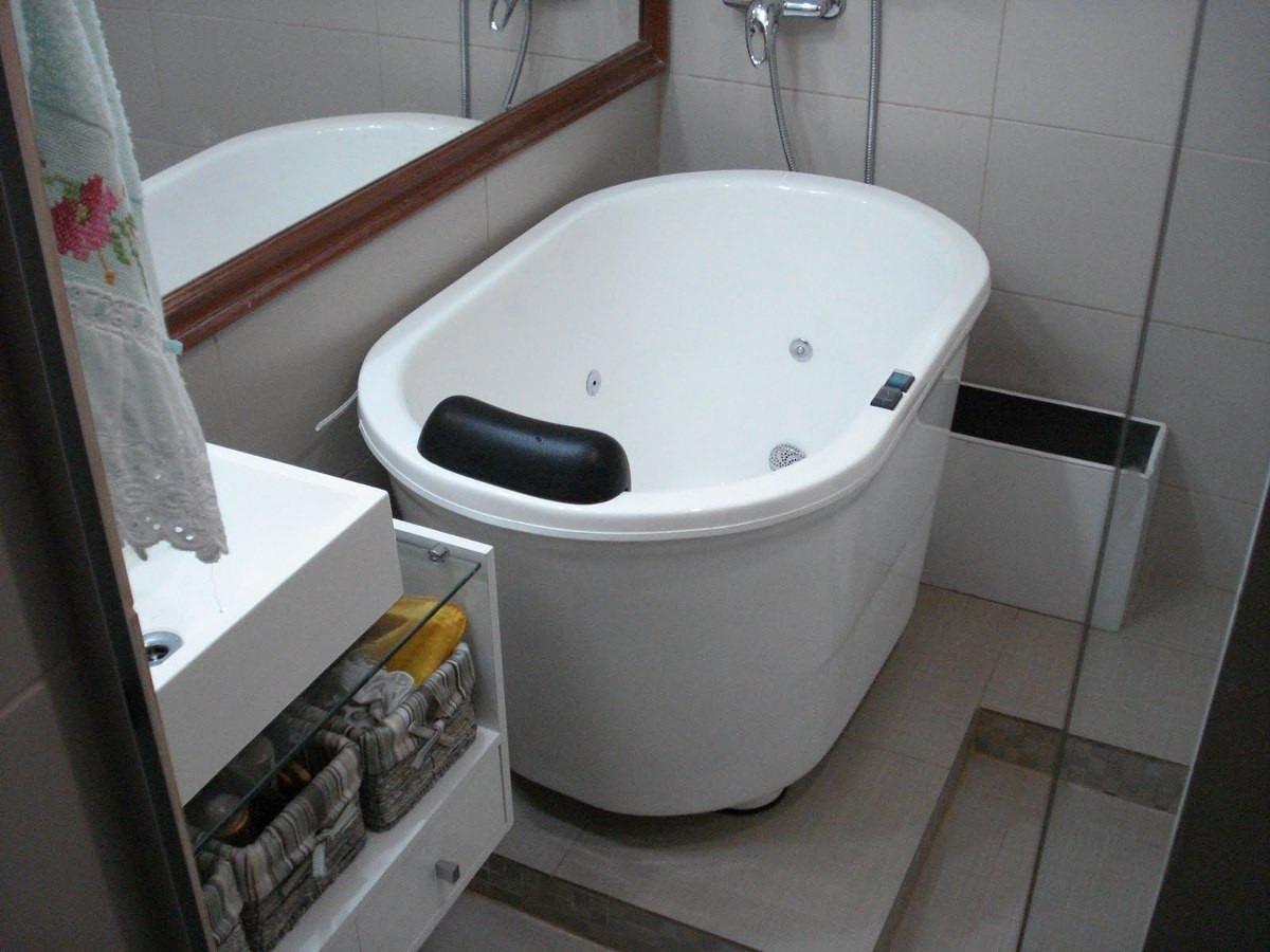 #536A78 Ofurô Vitoriano Sem Hidromassagem Confira Sua Medida Anuncio R$ 1  1200x900 px Banheiro Ofuro 2701