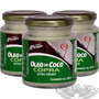 Kit 3 Un - Óleo De Coco Extra Virgem 200ml - Copra