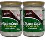 Kit 2 Un - Óleo De Coco Extra Virgem 500ml - Copra