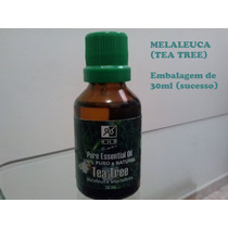 Óleo Essencial De Tea Tree Melaleuca 30ml - 100% Puro - Rhr