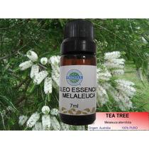 Tea Tree Óleo Essencial De Melaleuca 100% Puro