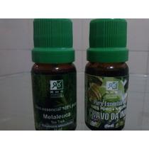 Óleos Essenciais De Melaleuca E Cravo Da Índia (10ml) Rhr