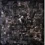 Pintura Tela Totem Preto Grafite Moderno Quadro Abstrato