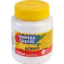 Tinta Guache Acrilex 250ml Branco