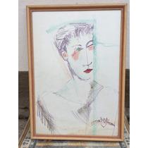 Pintura Mediúnica-luís Gasparetto-óleo S/ Tela,80x60 Cm-12x