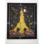 Obra De Arte - Quadro - Pintura A Óleo - Torre Eiffel