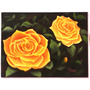 Pintura À Óleo Sobre Tela - Título: Rosas Amarelas