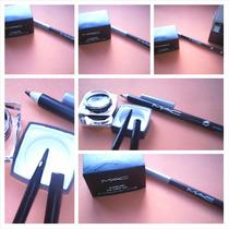 M-a-c Delineador Gel Sombra + Lápis M-a-c Eyeline Para Olhos