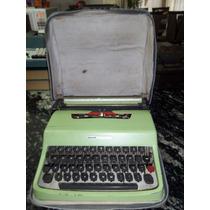 Maquina De Escrever - Olivetti Lettera 32