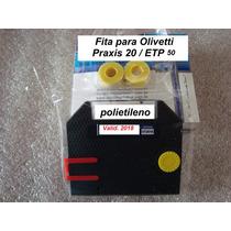 Fita Polieti+ Fita Corretiva P/ Olivetti Praxis 20 Etp 50