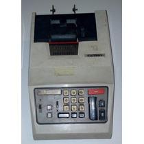 Antiga Máquina Elétrica De Calcular Comercial E Impressora