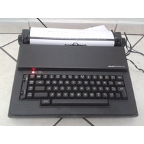 Máquina De Escrever Olivetti Praxis Elétrica Impecável