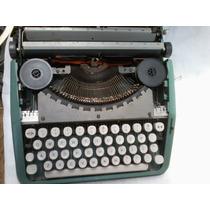 Maquina De Escrever Olivetti Lettera 82 C/ Maleta Promoção
