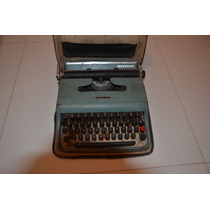 Maquina De Escrever Olivetti Lettera 22!!!