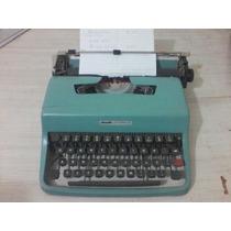 Máquina De Escrever Olivetti Lettera 32 C/bolsa Original