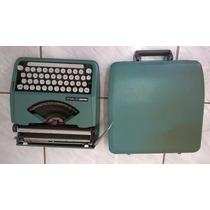 Máquina Datilografia Olivetti Lettera 82 De Maleta