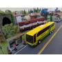 Ônibus Viação Expresso Brasileiro Antigo 1/87 Ho Eagle Hobby