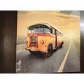 Quadro Onibus Antigo 40x40cm Rota 66 Painel Fotografico