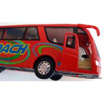 Miniatura Onibus Viagem / Coach Travel Esc 1/38+brinde Esp