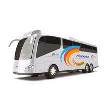 Onibus Roma Bus Executive - Branco - Roma Brinquedos