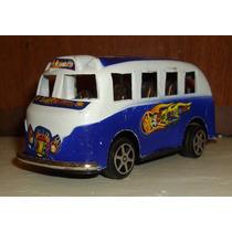 Ônibus Miniatura Brinquedo Trash A Fricção Vintage Retrô