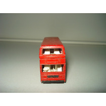 Carrinho De Ferro - Ônibus - London Bus - Matchbox / Lesney