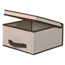 Caixa Organizadora Em Tecido 40cm X 40cm X 25cm B1- Dt11