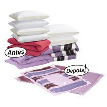 Saco À Vácuo Protetor Organizador - Roupa Cobertor 98 X 68