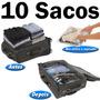 10 Saco A Vácuo Protetor E Organizador Trip Bag Ordene 60x40
