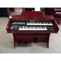 Órgão Yahalom Acr-300 Vermelho Analógico Curitiba
