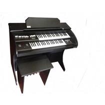 Órgão Eletrônico Rohnes Onix Plus Preto - Pronta Entrega
