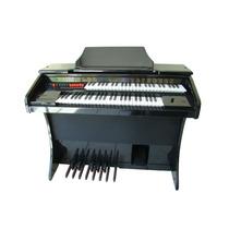Órgão Eletrônico Harmonia Hs 200 Black Piano. Somos Loja!