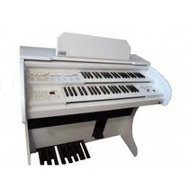 Órgão Eletrônico Rohnes Liz Plus Branco Igrejas Ccb