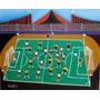 Tela De Aracy Tema Pelada De Futebol Medida 50x70
