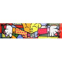 Romero Britto - The Hug - O Abraço