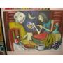 Pintura - Óleo Sobre Tela 50x70- Refeição Noturna