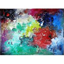 Wilson Braga Pintura Abstrata Mista S/tela 12x S/juros